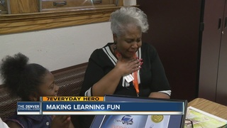 Volunteer helps improve student's reading scores