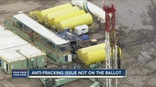 Anti-fracking measures miss deadline to appeal