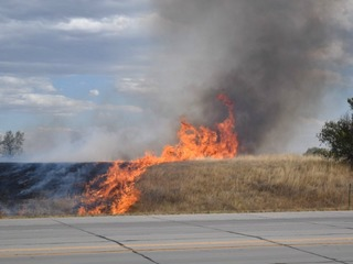 Fires spark during Red Flag Warnings