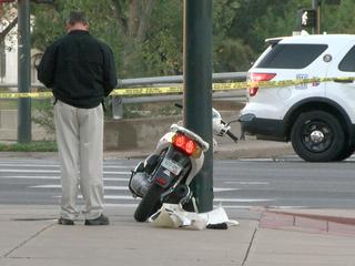 Pedestrian injured in hit-and-run crash