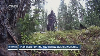 Hunting & fishing license fees could increase