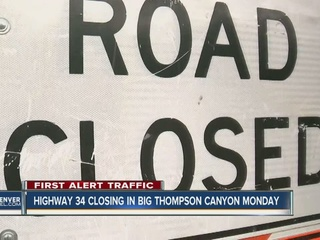 Big Thompson Canyon closed for 7 months