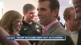 Report: Trump, Jr., joked about theater shooting