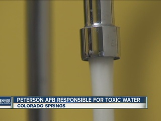 Air Force works to ID water contamination
