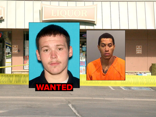 2 arrested, 1 on the run in robbery, shooting
