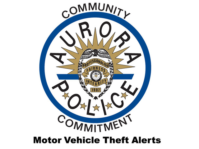 Aurora Police Now Fighting Car Thefts With Help Of Social Media