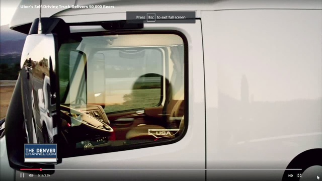 Beer run self driving otto truck goes 120 plus miles on delivery anheuser busch says it has completed the worlds first commercial shipment by self driving truck sending a beer filled tractor trailer on a journey of more mozeypictures Gallery