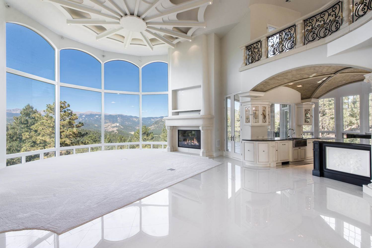 Extreme Homes Of Colorado Incredible Evergreen Chateau For Sale 175M
