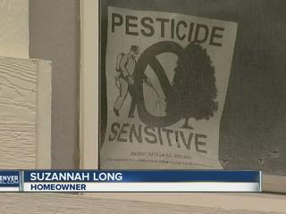Pesticide battle pits homeowners against HOA