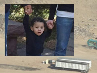 Landfill search begins to find 13-month-old boy