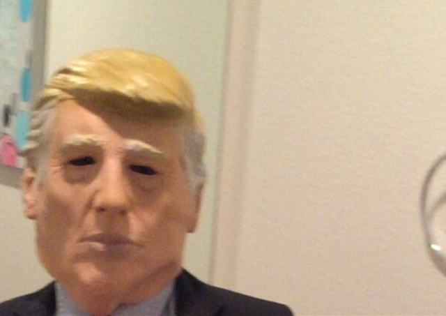 Donald Trump Halloween costume worn by 11-year-old boy attracts ...