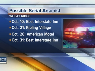 Possible arsonist wanted by Wheat Ridge police