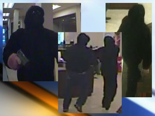 Police: 2 bank robbers are armed & dangerous