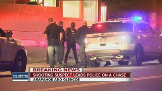 Man shot in carjacking, suspect escaped in chase