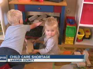 Child care shortage in Larimer County
