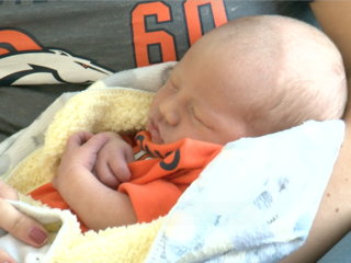 Broncos Super Bowl babies arrive