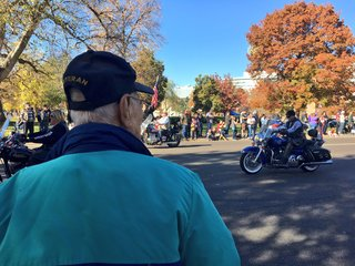 Hundreds gather for Denver's Veterans Day parade