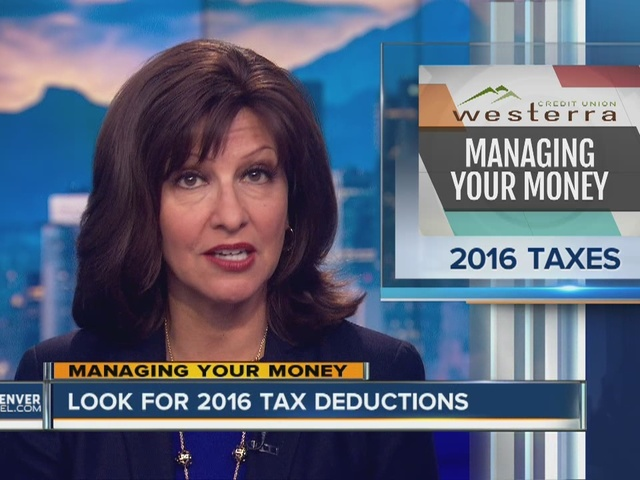 Look for 2016 Tax Deductions