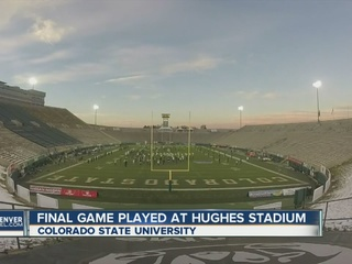 CSU turns out lights on Hughes Stadium for good