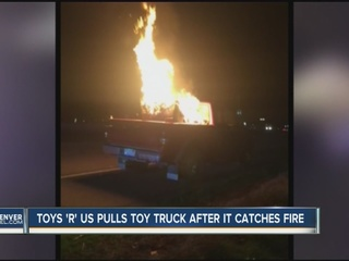 Fire prompts Toys 'R' Us to pull ride-on truck