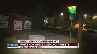 Man shot & killed in Adams County