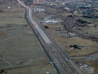 CDOT studying I-25 from Castle Rock to Monument