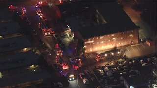 1 injured in Denver apartment fire