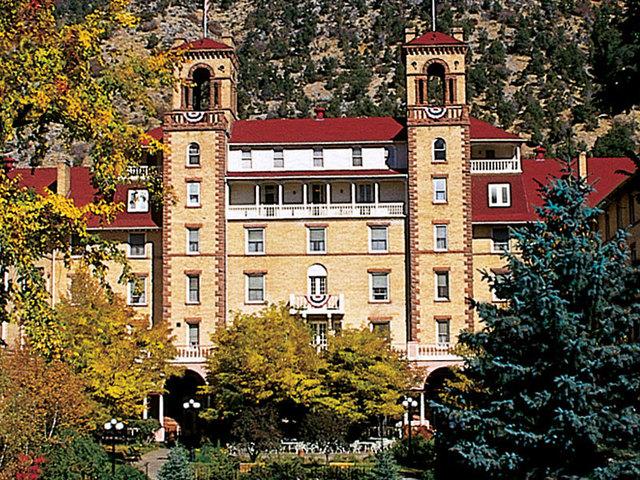 Glenwood Hot Springs Ing Hotel Colorado