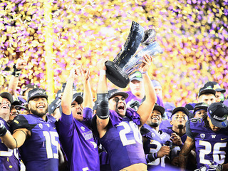Pac-12 title: Huskies beat Buffs 41-10