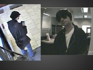 Authorities ante up $2k for bank robber arrest