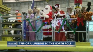 Fantasy flight makes trip to the North Pole