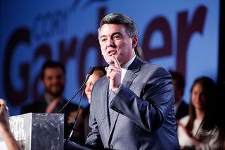 Gardner talks pot, Russia in phone town hall