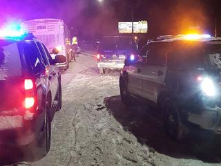Pueblo deputies help 40 travelers get to shelter