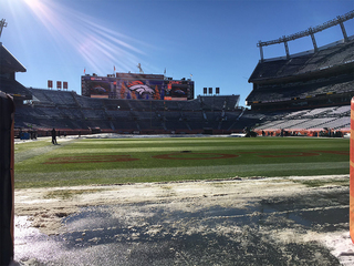 Broncos to fans: Watch out for ice and snow