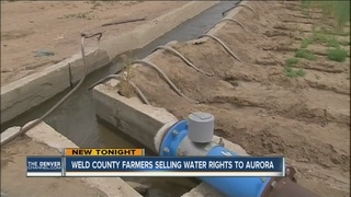 Some Weld Co. farmers selling water rights