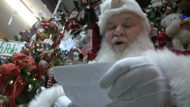thousands of letters to santa flood north pole post office daily - Post Office Christmas Eve