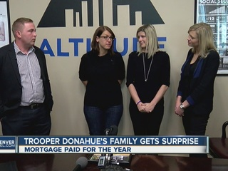 Widow of fallen trooper gets big surprise