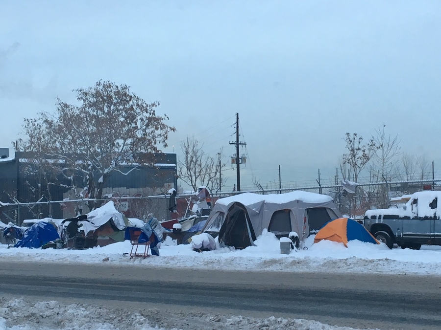 Dangerously cold weather prompts Denver to hand out hotel vouchers to the homeless