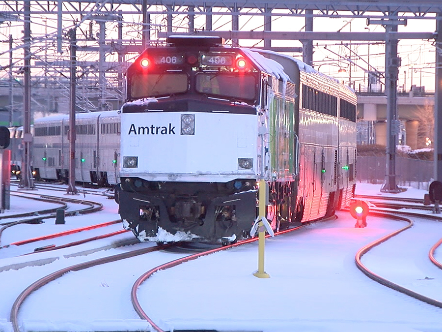 Ski train to Winter Park makes first trip from Denver's Union Station since 2009