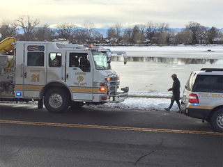 Icy ponds: 2 people, 2 dogs rescued in 2 days