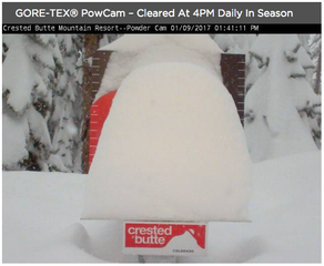 Crested Butte closes due to too much snow