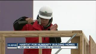 Habitat for Humanity builds homes for MLK Day