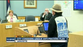 Lafayette tables vote on anti-fracking measure