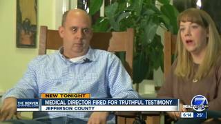Jail Medical Director loses job after testimony