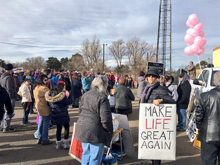 March for Life: Anti-abortion advocates protest
