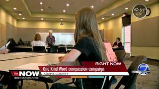 One Kind Word Project encouraging kindness week