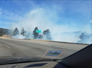 Brush fires break out across the Front Range