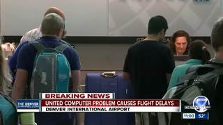 United Airlines computer issues causes delays