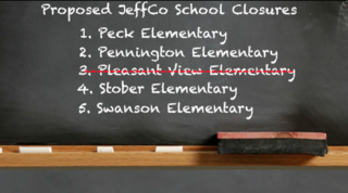 JeffCo to close one school, spares four others