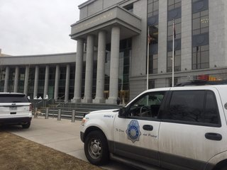 Bomb threats ring out at Colorado courthouses